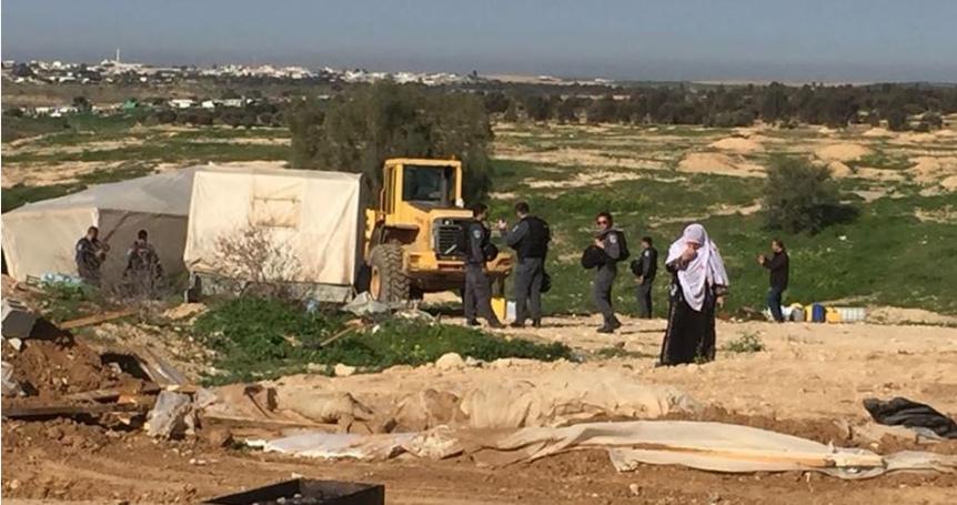 Israel razes Araqib village in Negev for 184th time