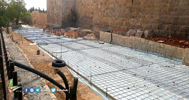IOA continues building path on Islamic cemetery's land in J'lem
