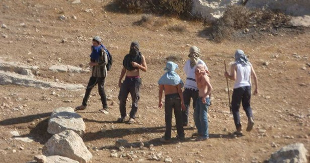 Masked settlers assault Palestinian farmers east of Yatta