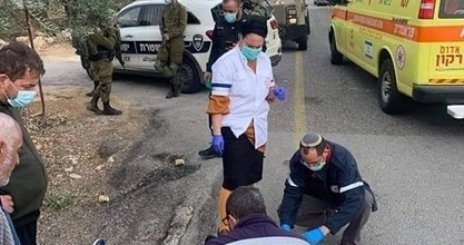Palestinian child injured in hit-and-run by Jewish settler