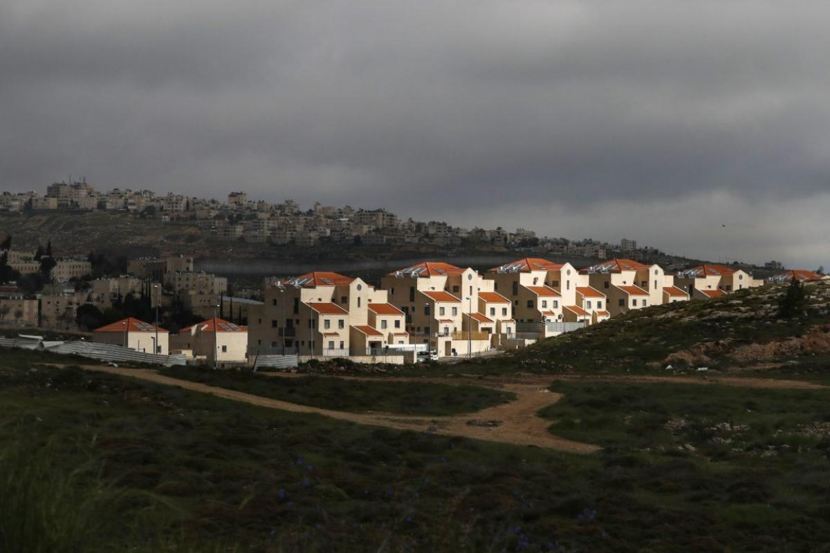 PA condemns Israel's approval of 2,300 new settlement units