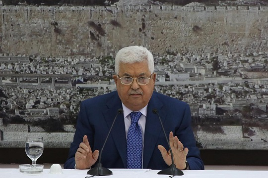 Open letter to President Mahmoud Abbas