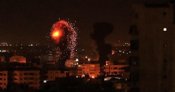Israeli aerial attacks target resistance sites in Gaza