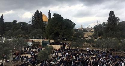 Al-Aqsa preacher champions national reconciliation