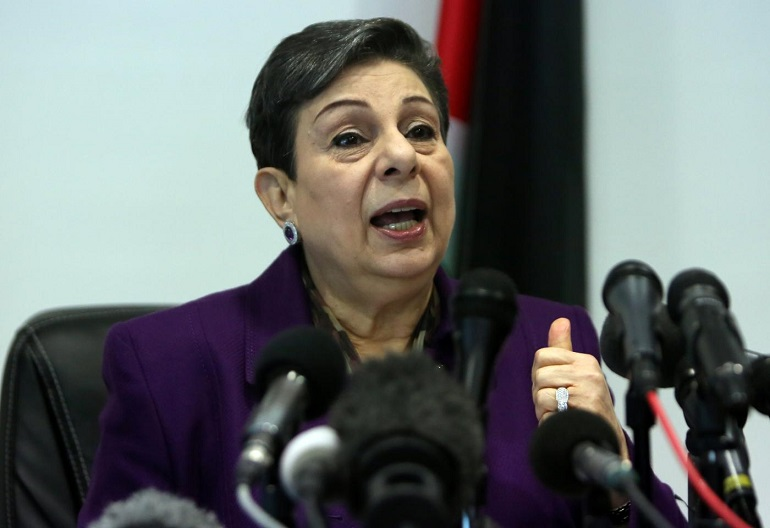 Hanan Ashrawi slams Kushner's 'fictitious economic plan'