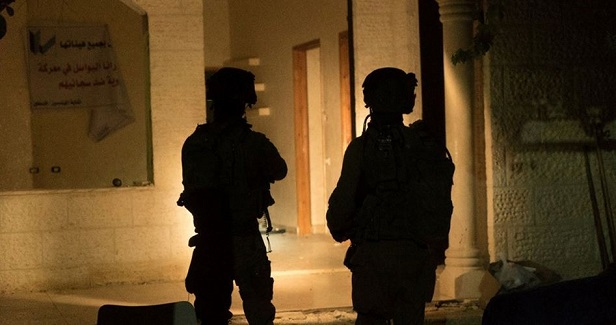Arrests reported in predawn sweep by Israel military