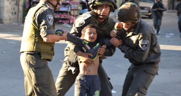 Two thirds of the Palestinian detainees at the Israeli Etzion facility are minors