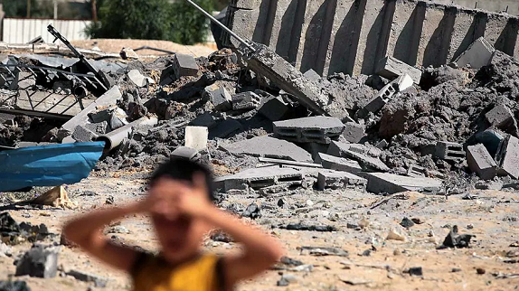 Netanyahu continues bombing Gaza Strip
