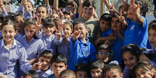 Over Half a Million Girls and Boys Will Go Back to UNRWA Schools for the New Scholastic Year 2019-2020