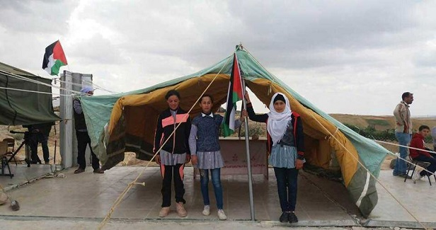 IOF seizes tents pitched in place of razed school in W. Bank