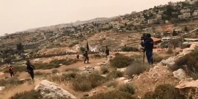 Bethlehem: IOF attack Return March ahead of 70th Nakba