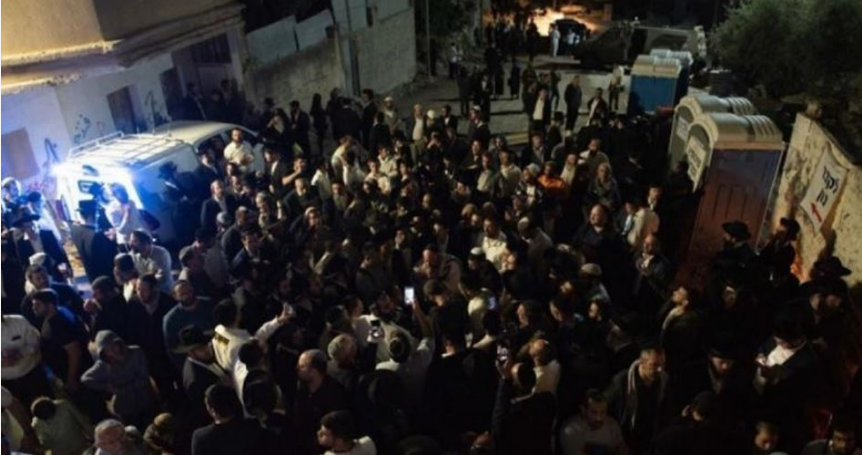 Scores of settlers storm Kifl Haris town for rituals