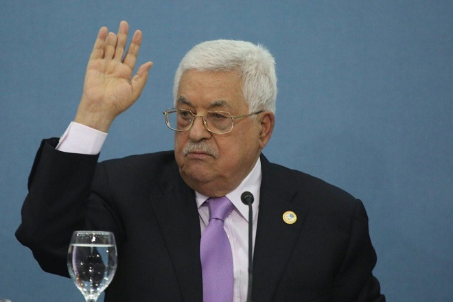 Palestinian President warns Israel because of Erdan's statements