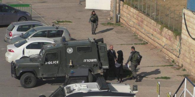 IOF arrest schoolgirl in Hebron