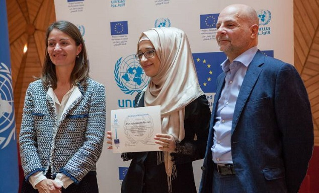 86 University Students Graduate with the Support of the European Union