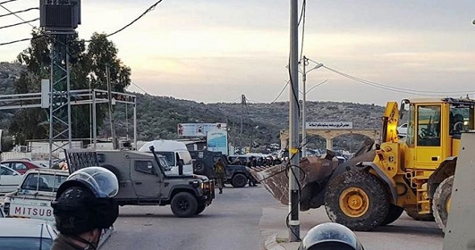 Israeli forces seal off Bertaa access road for 2nd day