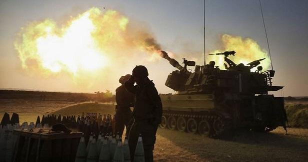 Israeli artillery attack two sites in Gaza