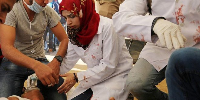 UK House of Commons condemns killing of Palestinian medics in Gaza by IOF