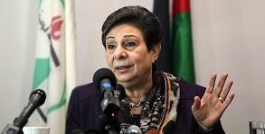 Ashrawi condemns 'Israel's summary execution' of 3 Palestinians