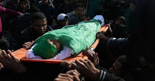 Palestinians pay farewell to 2 teen martyrs in Nablus, Gaza