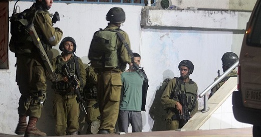 IOF punishes Palestinian families in al-Khalil