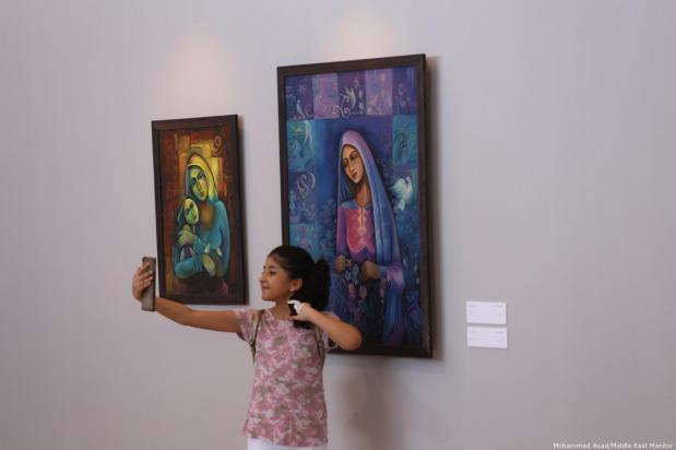 Gaza scrapes together new art exhibition