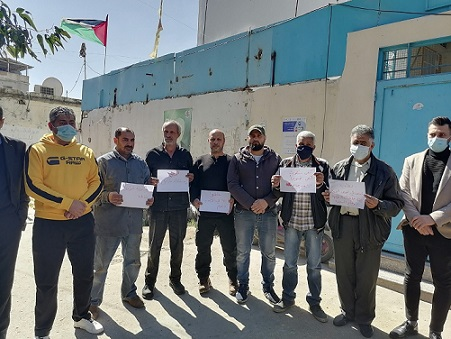 رابع اعتصام مطلبي شعبي في مخيم عين الحلوة خلال أسبوع