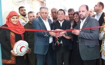 افتتاح قسم الطوارئ في مستشفى حيفا بدعم ياباني