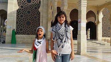 الثنائي المرح نور وسارة مقداد.. أشهر يوتيوبر فلسطيني من قلب الحصار