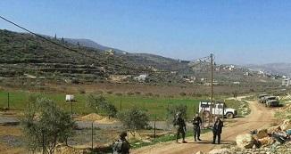 قوات الاحتلال تُخطر بهدم بئر لجمع المياه جنوب الخليل