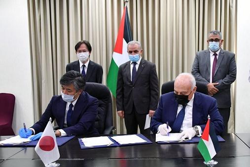 توقيع اتفاقيتي دعم ياباني لصالح 12 مُخيّماً بالضفة بقيمة 33 مليون دولار