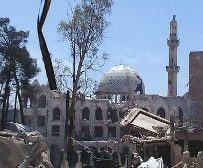 مصدر إعلامي: المخطط التنظيمي لمخيم اليرموك لن يشمل المخيم القديم