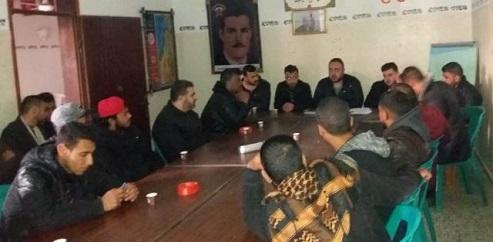 كتلة الوحدة العمالية تعقد مؤتمرها في شمال غزة وتؤكد وقوفها لجانب مطالب «الحراك الشعبي»
