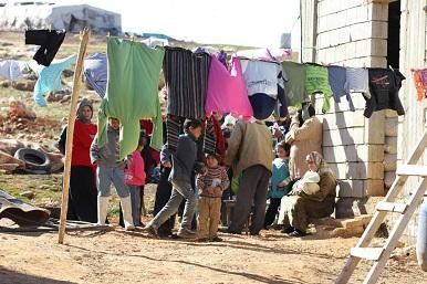 اللاجئون الفلسطينيون من سوريا شح في المساعدات وانعدام الأمن الاجتماعي