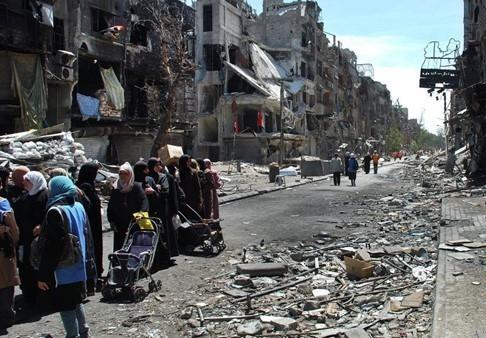 سوريا تقرر عودة اللاجئين الفلسطينيين إلى مخيم اليرموك