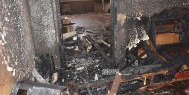 اندلاع حريق في حارة القيطية بمخيم جرمانا