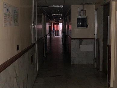 مشفى حيفا في مخيم برج البراجنة دون كهرباء
