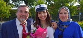 فلسطينية في الدنمارك تحصد أعلى معدل في الثانوية
