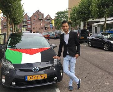 لاجئ فلسطيني ينشئ مدرسة إلكترونية لتعليم الهولندية للاجئين