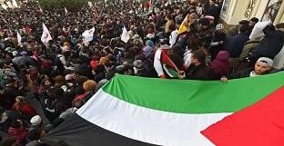 تونس.. وقفة رافضة للمجازر الصهيونية في غزة