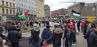 وقفة تضامن ودعم للأسرى وإضراب الكرامة 2 في برلين