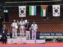 4 ميداليات فضية وبرونزية لفلسطين في بطولة كوريا الدولية للتايكواندو