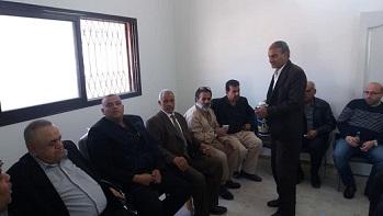 افتتاح مكتب السجل المدني في مخيم السبينة بريف دمشق