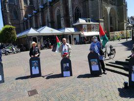 مظاهرة جماهيرية حاشدة في مدينة هارلم الهولندية تضامنا مع الشعب الفلسطيني
