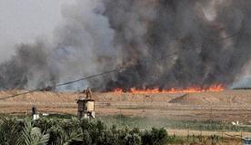 17 حريقًا داخل السياج الفاصل شرق قطاع غزة بفعل البالونات الحارقة