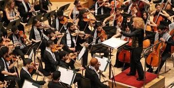 عرض موسيقى لأوركسترا معهد إدوار سعيد للموسيقى