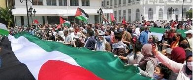 تظاهرتان في أميركا تطالبان بربط مساعدات إسرائيل باحترام حقوق الفلسطينيين