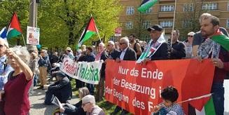 حضور فلسطيني مميز بمسيرة عيد الفصح في برلين