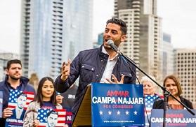الإعلام الأميركي ينشغل بمرشّحٍ فلسطيني من غزة للكونجرس الأميركي