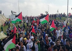 فلسطينيو سورية في لبنان يشاركون في إحياء الذكرى السبعين لنكبة فلسطين